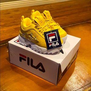 Fila infant's tennis shoes